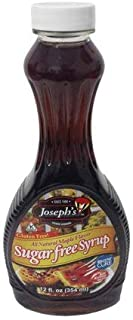 Value 3 Pack: Joseph's Sugar Free Maple Syrup, 12 oz.