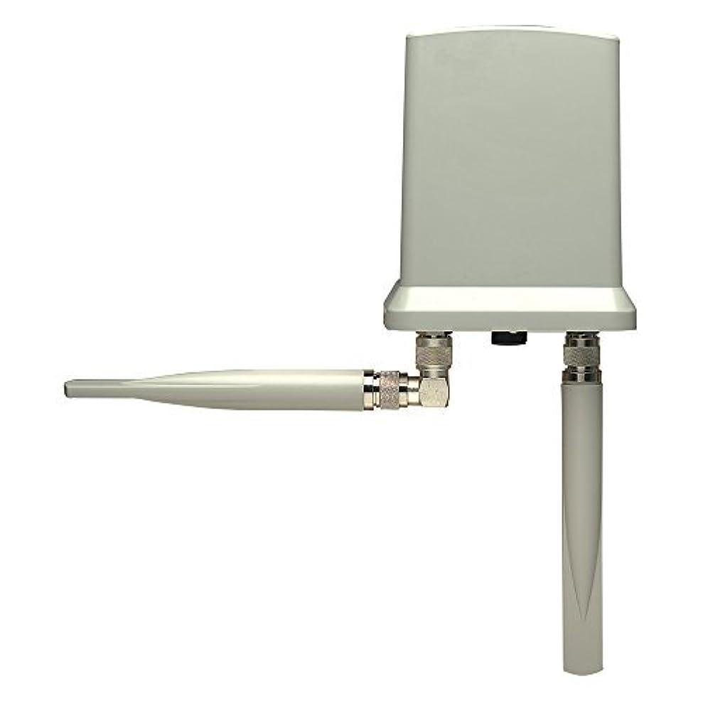 廃棄新しい意味ウサギIntellinet Wireless 300N Outdoor PoE Access Point (524711) [並行輸入品]