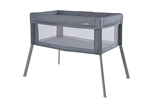 Kolcraft - Healthy Lite - Portable Travel Infant and Baby Bassinet - Grey