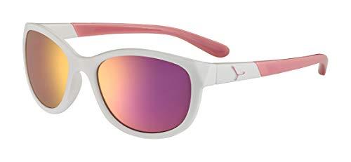 Cébé Baby Katniss zonnebril, glanzend wit roze, 7>10