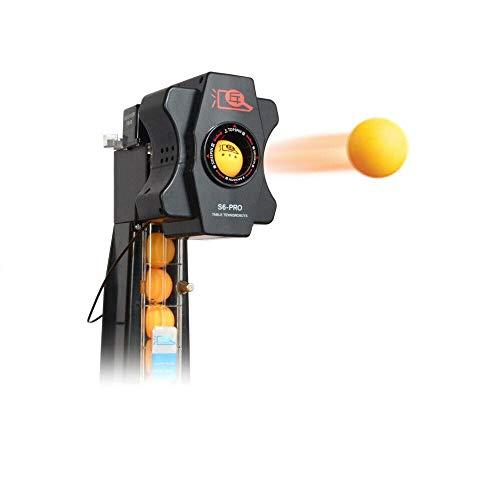 SHZICMY Table Tennis Robot, Motor Upgrade S6-PRO Automatic Table Tennis Robot Auto...