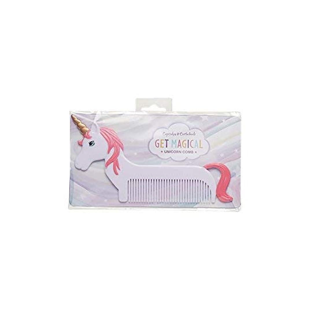 合金写真撮影比べるMagical Unicorn Pink Mane 6 x 3 Inch Hair Comb [並行輸入品]