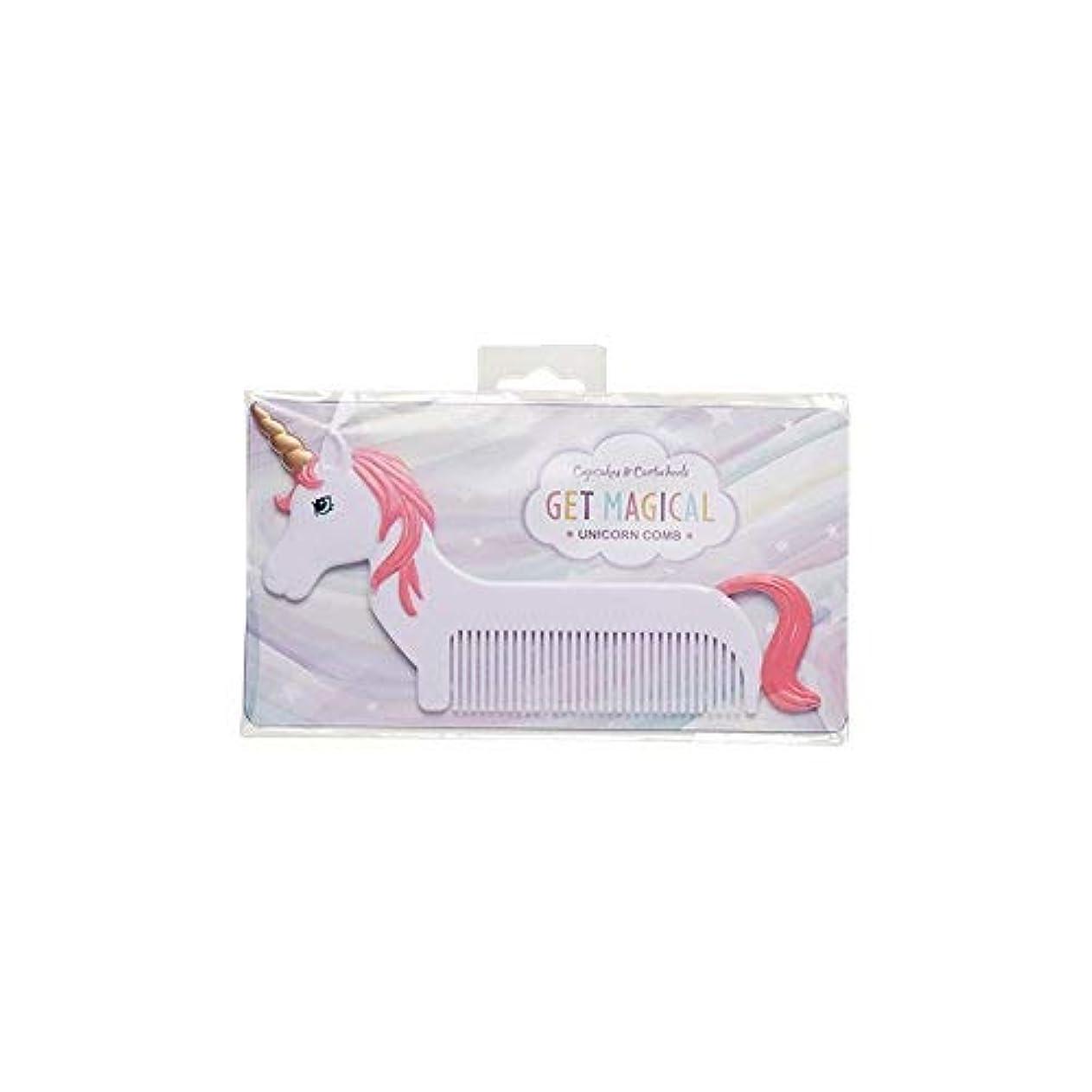 縫う広告摂氏度Magical Unicorn Pink Mane 6 x 3 Inch Hair Comb [並行輸入品]