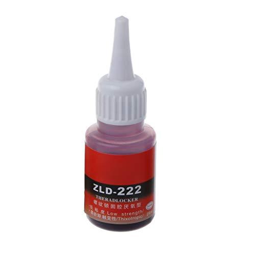 BIlinli Anaerobic 243 222 340 Schraube Flüssigkleber Fixiert Verhindern Sie, DASS die Schraube rostfrei ist. Feste Schraube Klebstoff Fixiermittel Dichtung Lockerungsmittel Fixierklebstoff