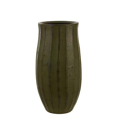 Mica decoratieve vaas, donkergroen, 57