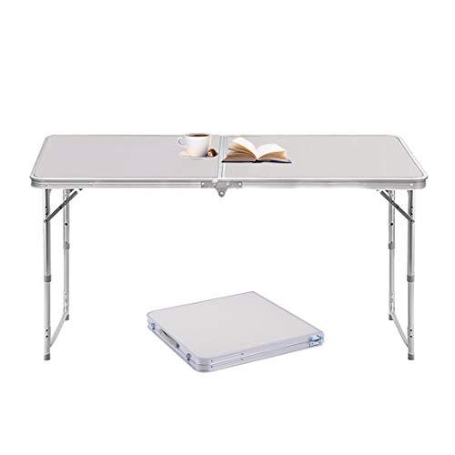 Sunreal Mesa Plegable de Aluminio portátil para Camping, al Aire Libre, Picnic/Barbacoa/Fiesta...