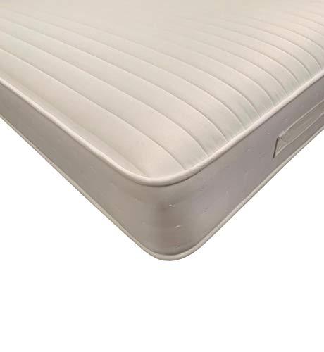 Starlight Beds SB-1340 HyCare Anti Bacterial & Microbial Open Coil Sprung Mattress 9 Layer Construction 9 Inch Deep Spring & Memory Foam Mattress, 5ft Kingsize Mattress 150cm x 200cm