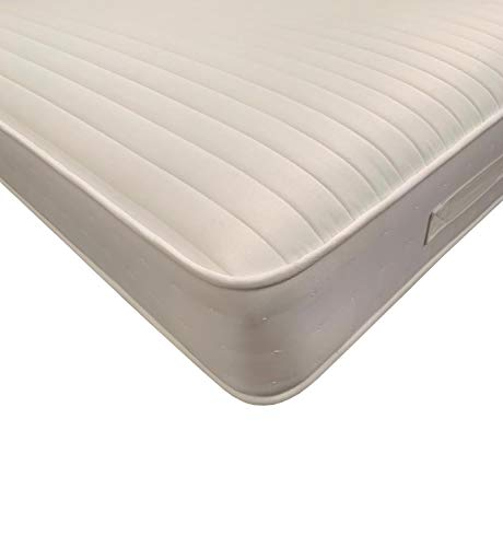 Starlight Beds SB-1340 HyCare Anti Bacterial & Microbial Open Coil Sprung Mattress 9 Layer Construction 9 Inch Deep Spring & Memory Foam Mattress, Shorty Mattress 75cm x 175cm