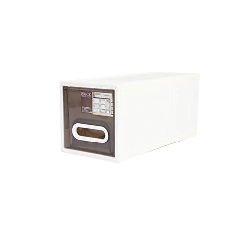 YUMEIGE Caja de almacenamiento de cosméticos Caja de almacenamiento El gabinete de almacenamiento de cajones de plástico, gabinete para niños para niños, caja de almacenamiento engrosada y organizada,