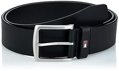 Tommy Hilfiger New Denton Belt 4.0 Cintura, Nero (Black 090), 115 Uomo