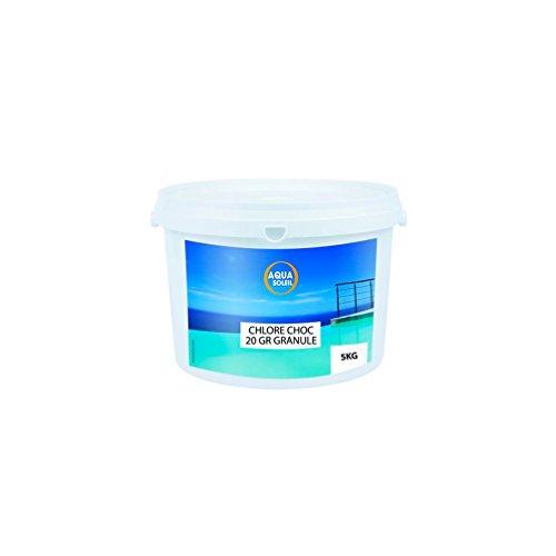 Aqua Soleil - Chlore choc en granulé 5 kg - 720005 - Aqua Soleil