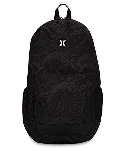 Hurley U Renegade II Printed Backpack Mochila, Hombre, Light Carbon, 1SIZE