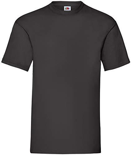 Fruit of the Loom 8 T Shirts Valueweight T Rundhals M L XL XXL 3XL 4XL 5XL Übergröße Diverse Farbsets (L, Schwarz)