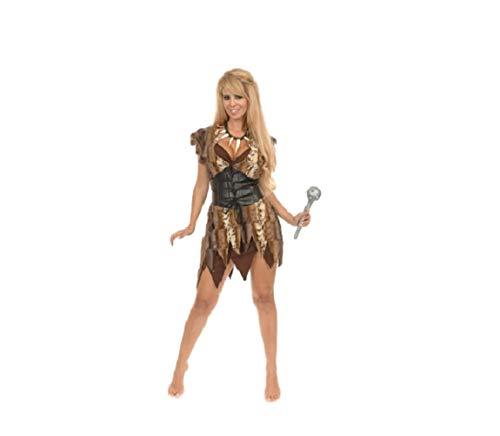 Top Totaal Sexy Onregelmatige Hem Een Stuk Grot Meisje Flintstones Wilma Betty Halloween Fancy Jurk Kostuum, M, BRON
