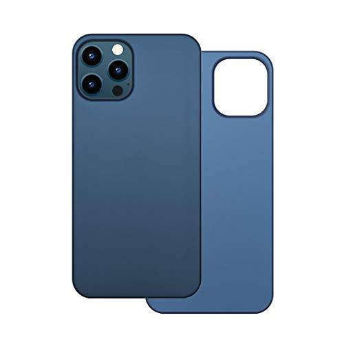 【CASEFINITE】Frost Air フロストエア iPhone 12 Pro Max 対応 薄型 ケース メタリックブルー FA1267M