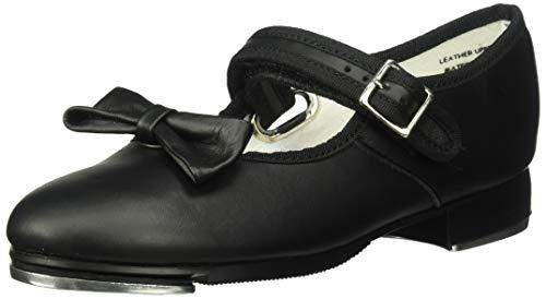 Capezio Kids Girl's Mary Jane - 3800C (Toddler/Little Kid) Black Leather Sneaker 2 Little Kid M