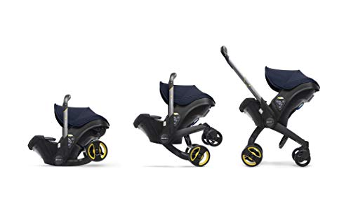 Doona+ 0+ Kindersitz - Von Autositz zum Buggy in Sekundenschnelle [0-15 Monate] (Royal Blue/dunkelblau)