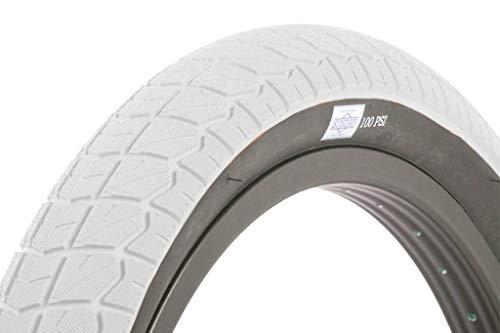 SUNDAY BIKES Current 20 V2 - Neumáticos para BMX (20'), color blanco y negro