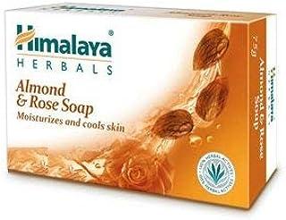 Himalaya Herbals Moisturizing Almond Soap, 75g (Pack of 6)