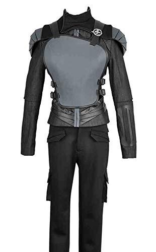 2015Film The Hunger Games: Teil 2Katniss Everdeen schwarz Version Cosplay Kostüm Custom Made