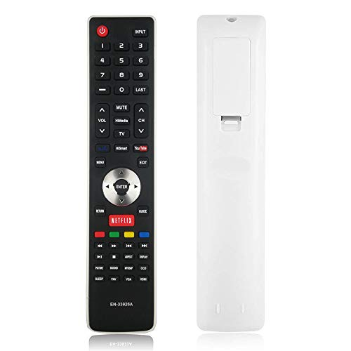 ANKIMI New EN33926A EN-33926A Remote Replacement for Hisense TV, if Applicable 40K366WN 32K20 32K20DW 32K20W 40H5 50H5G 50K610GWN 55K610GWN 32K366W 40K366W 50K610GW 55K610GW