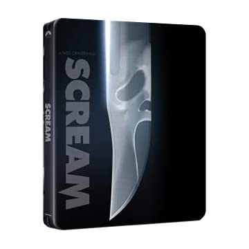 Scream [4K Ultra HD + Blu-Ray-SteelBook édition limitée]