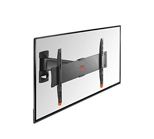 VOGEL'S BASE TV muurbeugel voor televisie, wandhouder, draaibaar, televisiesteun voor de muur, VESA, universele compatibiliteit, houder 120° draaibaar 32-55