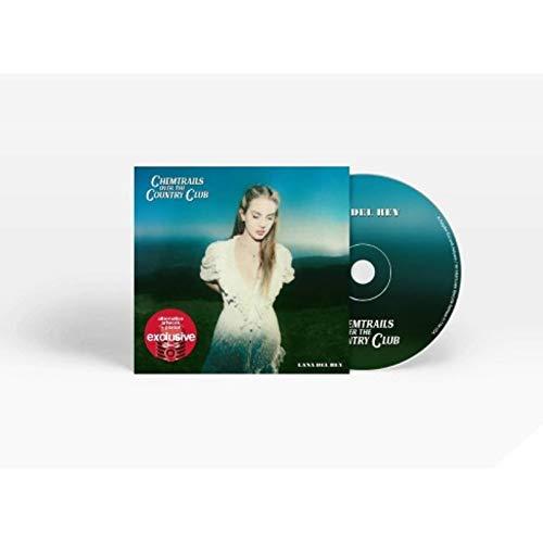 LANA DEL REY LIMITED EDITION TARGET EXCLUSIVE ALTERNATE ARTWORK & POSTER CD.