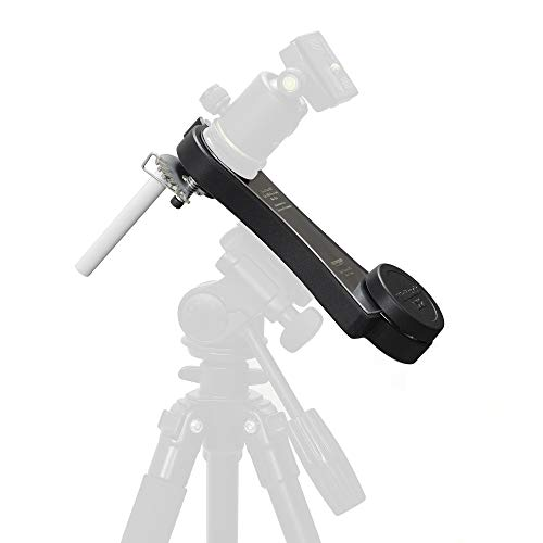 Omegon Star Tracker Mini Track LX2 N - Mechanical Travel Mount for Astrophotography with DSLR and Lightweight telescopes