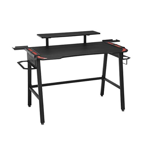 RESPAWN 1010 Gaming Computer Desk, in Red (RSP-1010-RED), 23.625' D x 52.625' W...