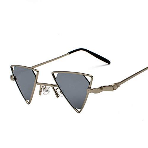 Última mejora Triángulo Hollow Gafas de sol Hollow EUROPEO Y AMERICANO PERSONALIDAD DE MODA DE MAYORÍA DE METAL Gafas de sol Steampunk Fans Gafas de sol Multi Color Se puede seleccionar