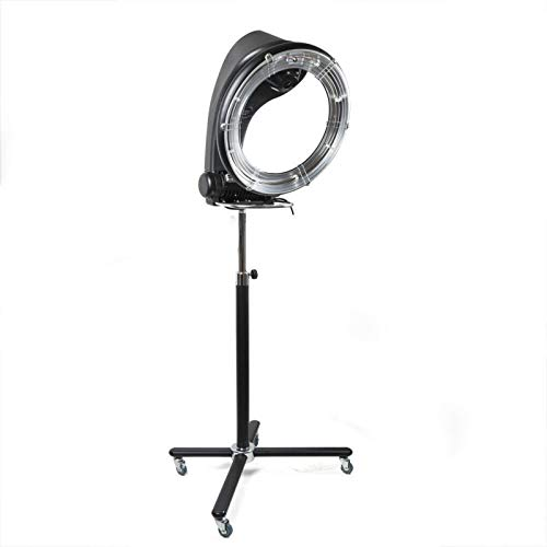 TFCFL Professional Orbiting Rollerball Infrared Stand Hair Dryer Color Professional Salon Hair Dryer Spa Color Processor US Stock