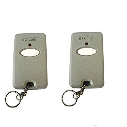 For Sale! Control Garage Door GATE Opener Transmitter 10 Digit PINS EZ Code Mini Remote 2