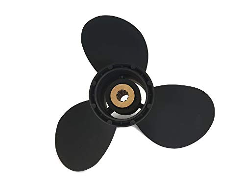 Boat Motor 58100-93743-019 Propeller 9 1/4 x11 R for Suzuki DT9.9 DT15 DF9.9 DF15 DF20 2/4-stroke Engine