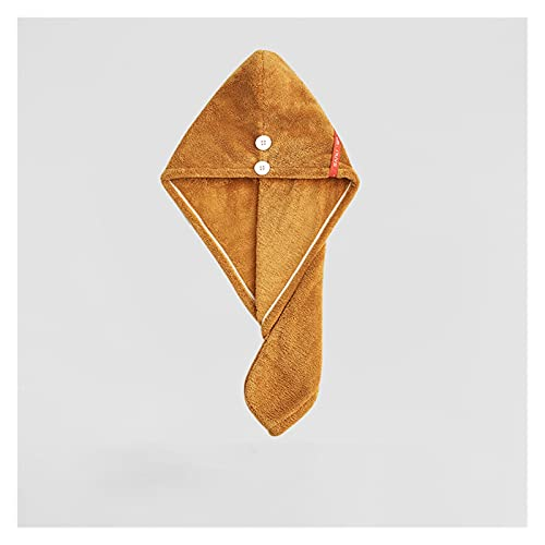 Sombrero Cabello Seco Sombrero de secado del cabello de la niña Sombrero de la toalla de pelo de secado rápido sombrero de baño Hat de baño Microfibra Toalla de toalla sólida Super Absorción Turbante