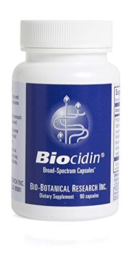 Bio-Botanical Research Biocidin Capsules, Potent Broad-Spectrum Botanical Combination, 90 Capsules