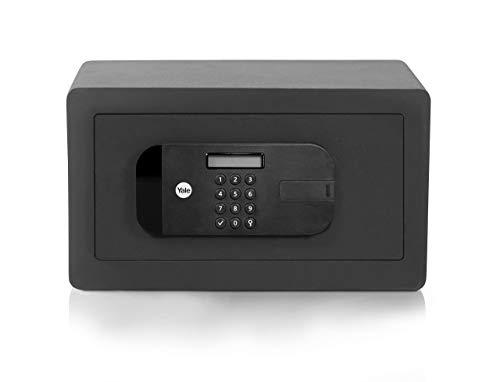 Yale YSEB/200/EB1 Hochsicherer, motorisierter Safe für Laptop, Schwarz