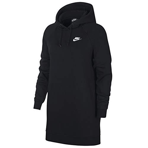 NIKE Sportswear Essential Vestido, Mujer, Black/White, XS
