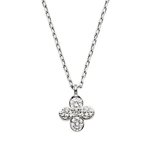 [VAヴァンドーム青山] VA VENDOME AOYAMA プラチナ PT900 ダイヤモンド 0.11ct サンファンブラン ネックレス GPAN008140DI