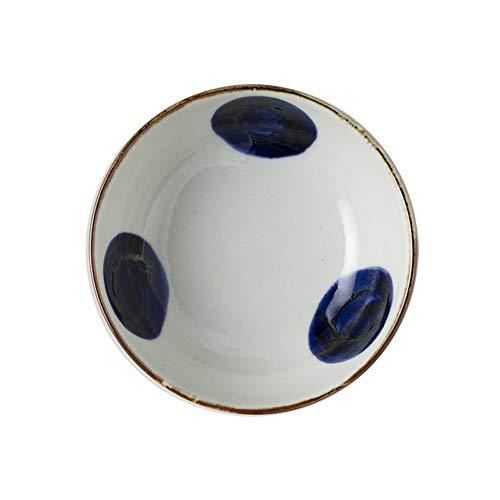 RKY Bol- Bol en céramique de style japonais de 5,5 pouces mangeant un bol à vent et un bol à vent maison petit bol à soupe - 2 styles /-/ (Couleur : B)