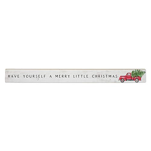 Simply Said, INC Talking Sticks 16' x 1.5' Wood Sign, Have Yourself a Merry Little Christmas TLK1421