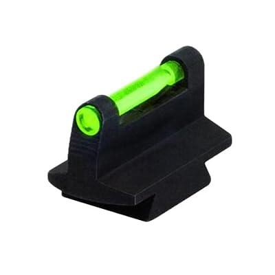 HIVIZ 3/8-Inch Dovetail Fiber Optic Rifle/Muzzleloader Sight 0.38 Height