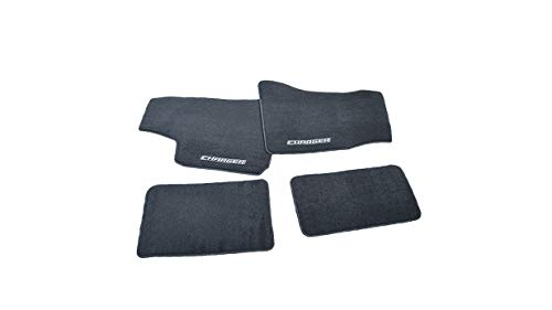 Mopar 82209420AB Dark Slate Gray All-Weather Set of Four Front and Rear Seat Mats 4 Pack