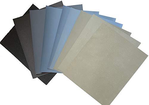 Starcke Matador Premium Schleifpapier | Made in Germany | Körnung 60 bis P7000 wählbar | Wasserschleifpapier Nassschleifpapier (10, P7000)