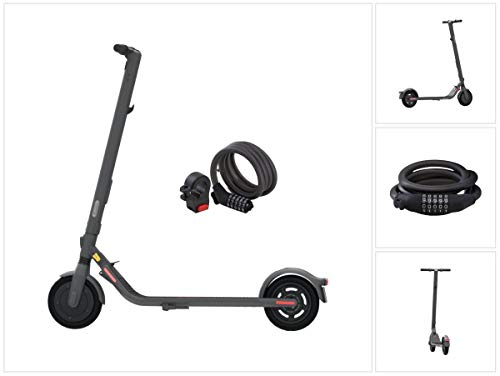 Ninebot by Segway Kick Scooter E25D Elettrico Scooter 300 W 20 km/h + lucchetto a combinazione