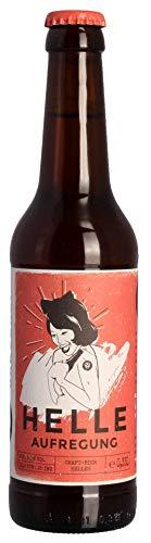 Landgang Brauerei - Helle Aufregung Helles Craft Beer 5,0% vol - 0,33l inkl. Pfand