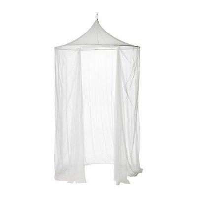 Ikea Solig–Mosquitera para cama (150cm de diámetro, lavable en lavadora a 60grados–con suspensión