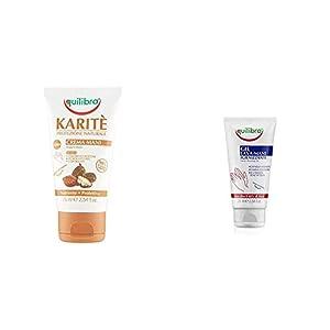 Equilibra Crema Mani Karite - 75 ml + Gel Igienizzante Lava-Mani - 75 ml