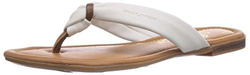 s.Oliver 27113, Sandales pour Femme - Blanc - Weiß (Offwhite 109), 36 EU