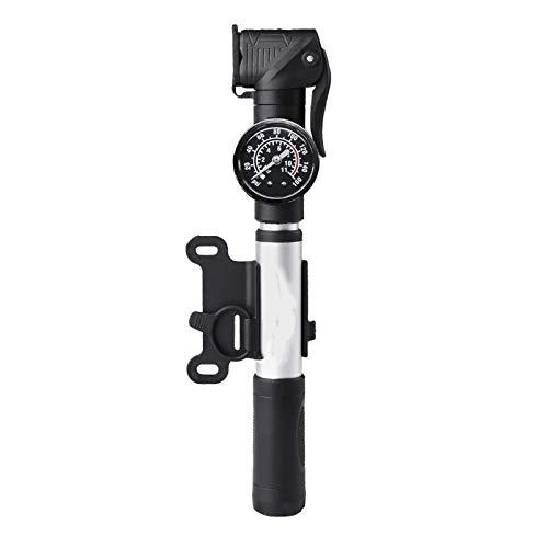 HJKH InflatorMini Bicycle Pump Portable Bike Tire Frame Pump With Pressure Gauge